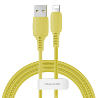 Кабель Baseus Colourful Cable USB - Lightning 2.4A 1.2м Жёлтый