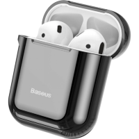 Чехол Baseus Shining Hook Case для Apple Airpods Чёрный